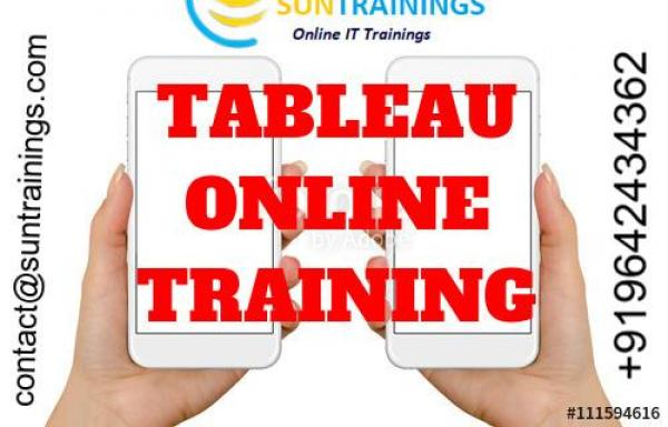 Best TableauOnline training in India, Australia, USA, UK, Malaysia.