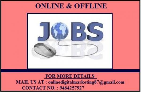 Earn more money by sitting at home and working without any restricted time.