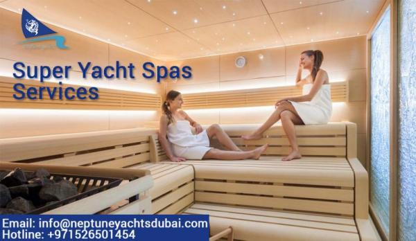 Hire Luxury Yacht Charter Rental Dubai, UAE to experience the best super yacht spas
