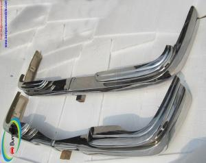 Mercedes W111 coupe bumper (1969-1971) by stainless steel