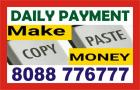 Hiring - Part time work from Home   Copy Paste Work   1703   Daily Payout
