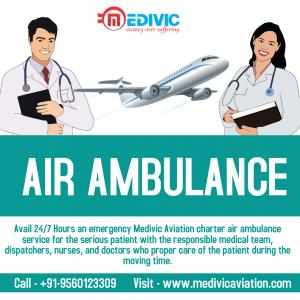 Gain Supersonic ICU Air Ambulance Service in Mumbai by Medivic