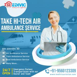 Now Book First Rated Medivic Air Ambulance Service in Bangalore