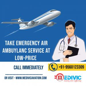 Select Medivic Air Ambulance Service in Chennai for Instant Shifting